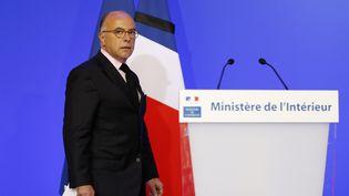 Le ministre de l'Intérieur, Bernard Cazeneuve, le 16 juillet 2016, à Paris. (MATTHIEU ALEXANDRE / AFP)