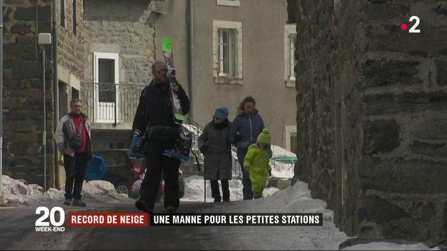 Neige : une manne pour les petites stations