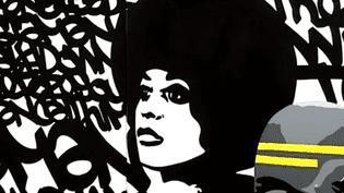 Une oeuvre du graffeur Fenx  (France3culturebox)