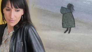 """La dessinatrice Catherine Meurisse, publie """"La légèreté"""" (Dargaud)  (Laurence Houot / Culturebox)"""