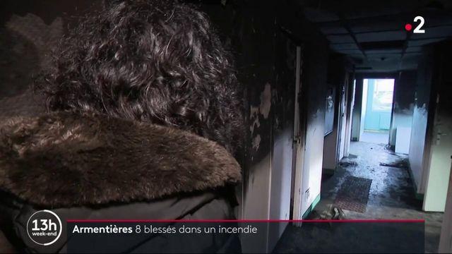 Nord : huit blessés dans l'incendie d'une unité psychiatrique