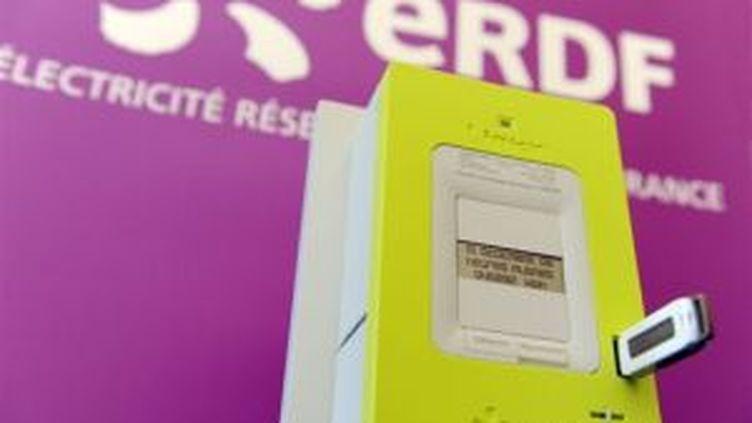 """Linky, le nouveau compteur électrique """"communicant"""" (© AFP)"""