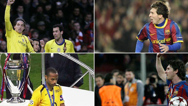 Zlatan Ibrahimovic, Thierry Henry et Lionel Messi ont marqué chacun à leur manière les rencontres entre Arsenal et FC Barcelone