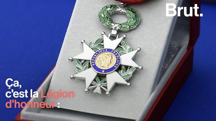 VIDEO. Tout ce que vous devez savoir sur la Légion d'honneur (BRUT)