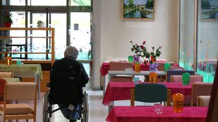 Un établissement d'hébergement pour personnes âgées dépendantes à Nancy en mai 2018 (illustration). (MAXPPP)
