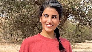 Loujain Al-Hathloul, l'une des cheffes de file du mouvement féministe saoudien, à Riyad (Arabie Saoudite). (- / LINA AL-HATHLOUL'S TWITTER ACCOU / AFP)