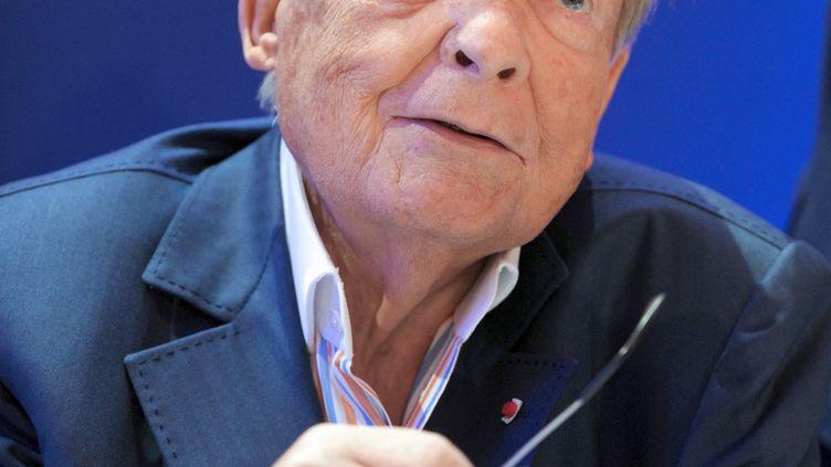 Le grand mécène du rugby français, Serge Kampf. (ERIC PIERMONT / AFP)