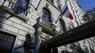 Le consulat de France à New York (Etats-Unis), le 15 juillet 2016. (KENA BETANCUR / AFP)