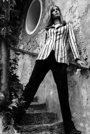 Renoma : blazer rayé,1964  (Archives Renoma)