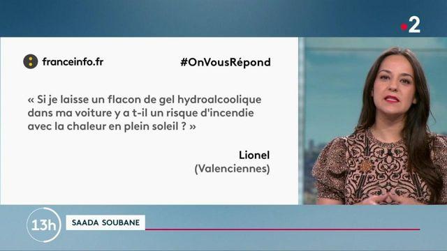 #OnVousRépond : gel hydroalcoolique au soleil et code de la consommation