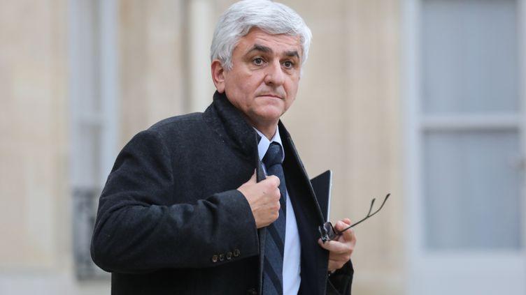 Le président de la région Normandie, Hervé Morin, le 10 décembre 2018. (LUDOVIC MARIN / AFP)