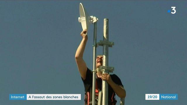 Yonne : les habitants d'un village en zone blanche installent eux même Internet