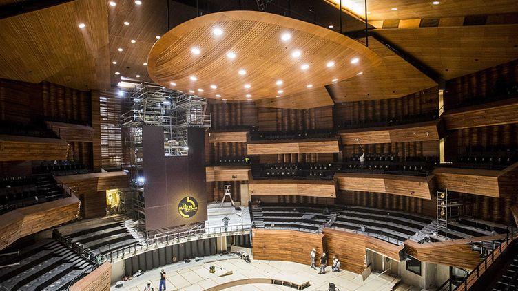 Un nouvel auditorium à la Maison de la Radio  (Christophe Morin / MAXPPP)