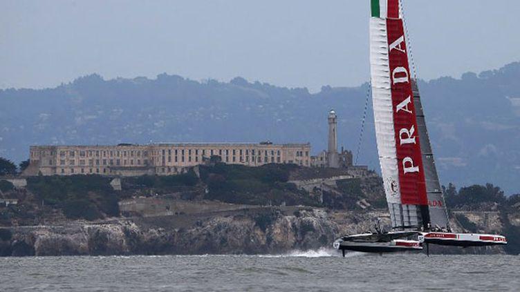 La bateau italien de l'America's Cup, Luna Rossa