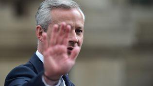 Bruno Le Maire est le nouveau ministre de l'Economie du gouvernement d'Edouard Philippe. (CHRISTOPHE ARCHAMBAULT / AFP)