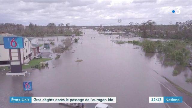 États-Unis : l'ouragan Ida fait de nombreux dégâts en Louisiane