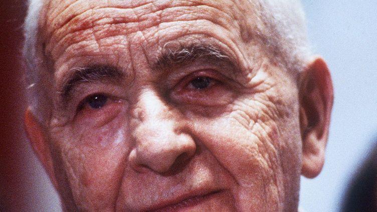 Louis Aragon en 1981  (AFP)