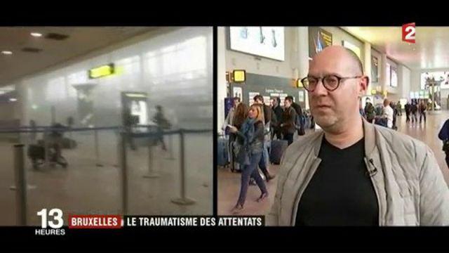Attentats de Bruxelles : le poignant témoignage de rescapés