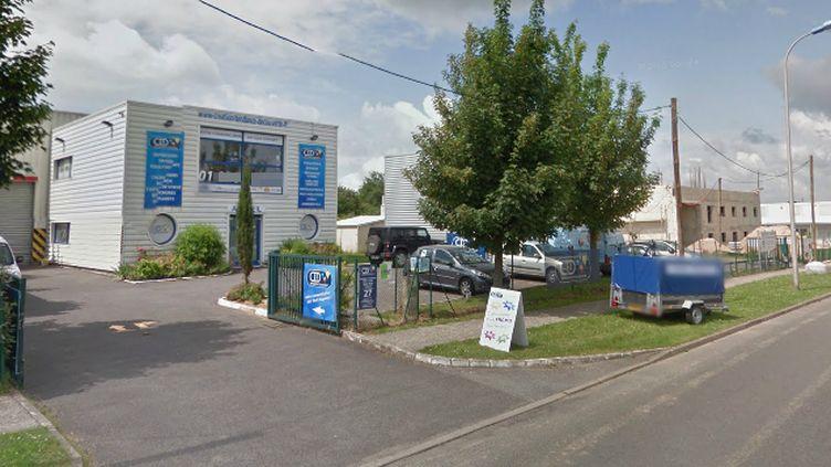 (Vue de l'entreprise CTD à Dammartin-en-Goëlle dans laquelle les frères Kouachi se seraient retranchés © Google street view)