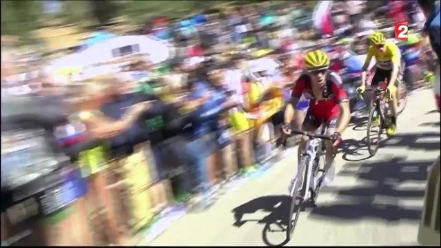 Tour de France 2016 : Froome à pied...mais toujours en jaune