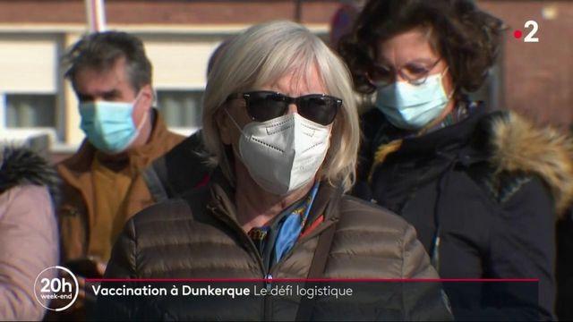 Covid-19 : à Dunkerque, les habitants se sont déplacés en masse pour se faire vacciner