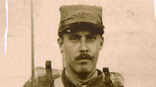 Hervé Lambert pendant la Première Guerre Mondiale  (France 3 / Culturebox)