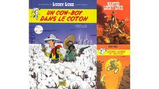 UN COW-BOY DANS LE VENT (ACHDE ET JUL / LUCKY COMICS / MATTHIEU BONHOMME, LUCKY COMICS / MAWILL, LUCKY COMICS)