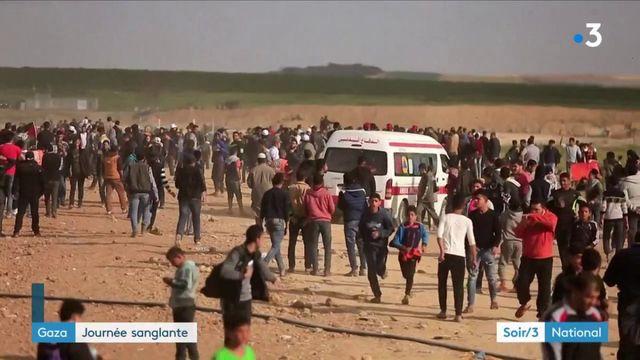 Gaza : journée particulièrement sanglante avec au moins seize morts