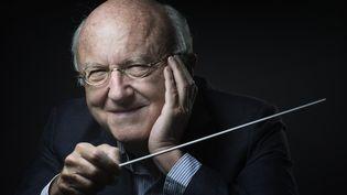 Le compositeur français Vladimir Cosma en mai 2016. (JOEL SAGET / AFP)