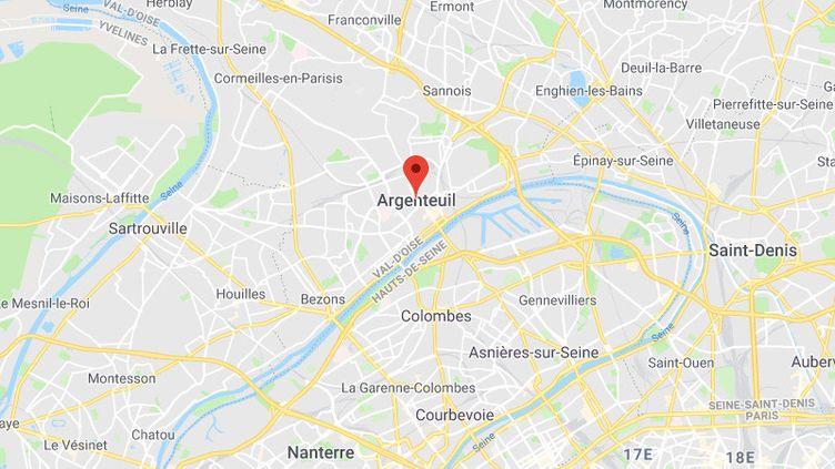 Argenteuil. (GOOGLE MAPS)
