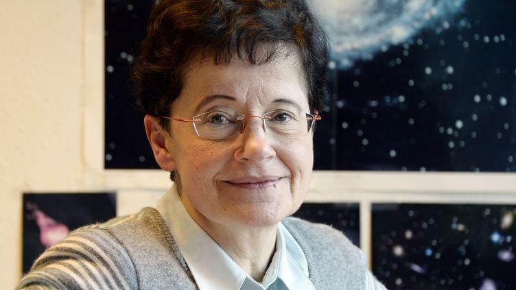 L'astrophysicienne Françoise Combes, à Paris, le 17 décembre 2014. (BERTRAND GUAY / AFP)