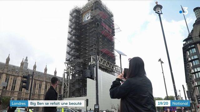 Royaume-Uni : les travaux de rénovation de Big Ben s'achèveront en 2022
