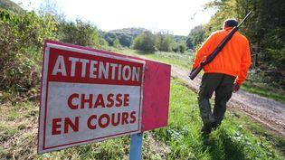 La commune savoyarde de Jarsy oblige les cueilleurs de champignons à porter un gilet fluo les jours de chasse. (LIONEL VADAM  / MAXPPP)