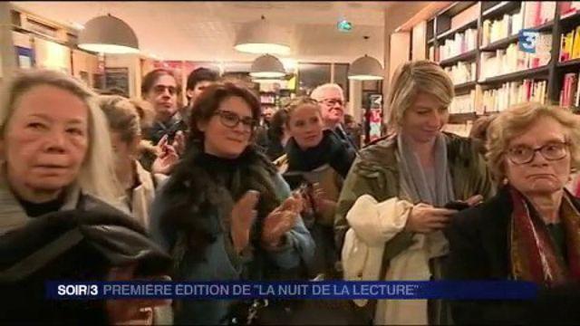 """Première édition de """"La Nuit de la lecture"""""""