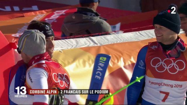 Combiné alpin : deux Français sur le podium