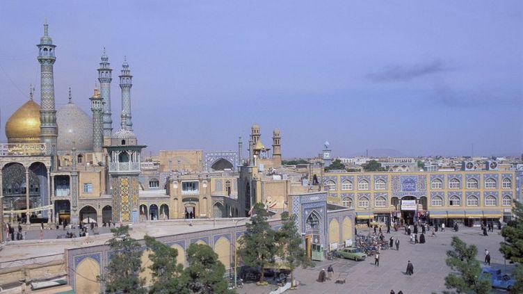 La ville de Qom (Iran), le 16 octobre 2008. (BOISVIEUX CHRISTOPHE / HEMIS.FR / AFP)
