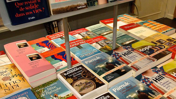 L'étal d'une librairie  (Sébastien Jarry / MaxPPP)