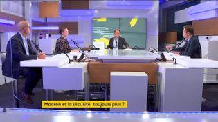 Le plateau des informés du matin du mardi 14septembre. (FRANCEINFO / RADIOFRANCE)
