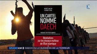 La couverture du livre Un cartel nommé Daech (France 3)