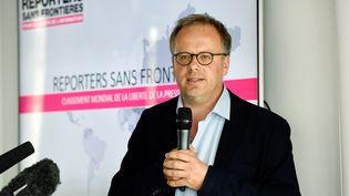 Christophe Deloire, secrétaire général de Reporters sans frontière (BERTRAND GUAY / AFP)