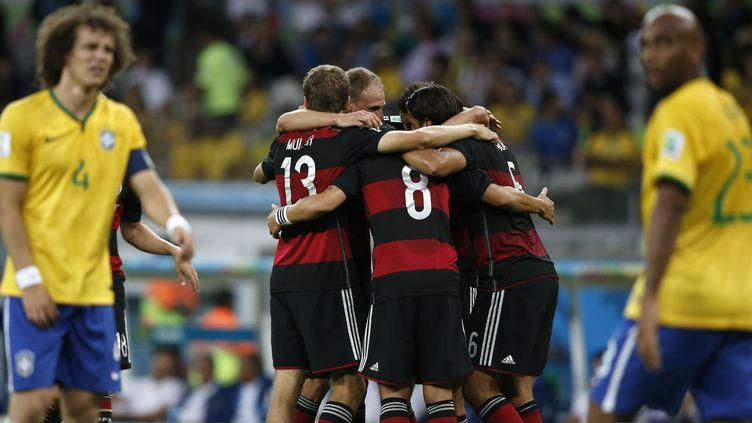 Brésil-Allemagne.