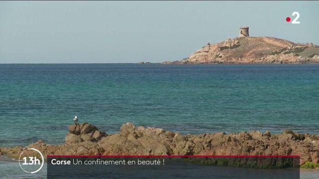 Confinement : en Corse, des vacances au calme dans un paysage de carte postale
