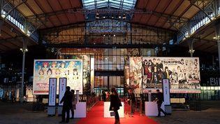 La grande Halle de la Villette accueille une exposition exceptionnelle Manga Tokyo. Pour la première fois des oeuvres uniques comme la carte géante de la capitale nipponne, où des planches originales de célèbres manga comme Akira et des storyboards de films d'animations qui ne sont jamais sortis des studios japonais.  (@edepourquery)