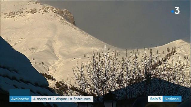 Alpes-Maritimes : une avalanche mortelle fait quatre morts