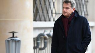 Le secrétaire national du PCF Fabien Roussel à Paris le 12 mars 2020 (CHRISTOPHE ARCHAMBAULT / AFP)
