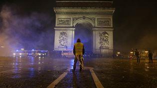Paris, le 1er décembre 2018. (ZAKARIA ABDELKAFI / AFP)