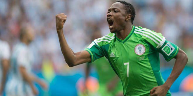 L'attaquant du Nigeria, Musa