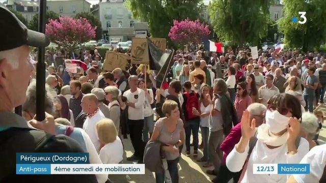 Pass sanitaire : quatrième samedi de mobilisation dans toute la France