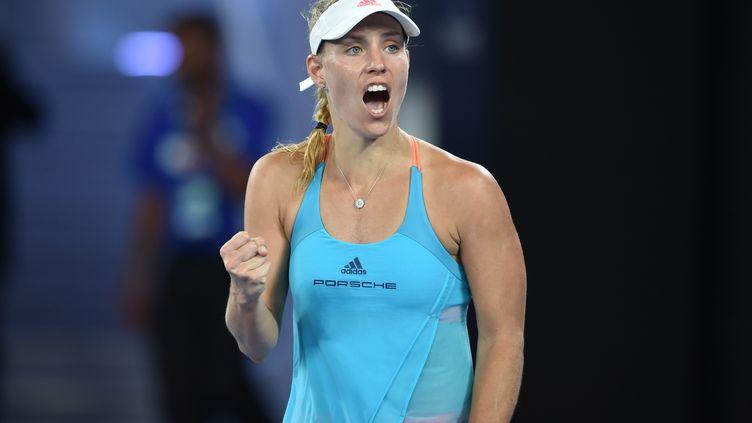 La joueuse allemande Angelique Kerber (PETER PARKS / AFP)