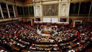 A l'Assemblée nationale, à Paris, le 13 décembre 2016. (PATRICK KOVARIK / AFP)